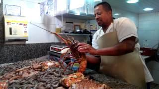 Aprenda a limpar lagosta