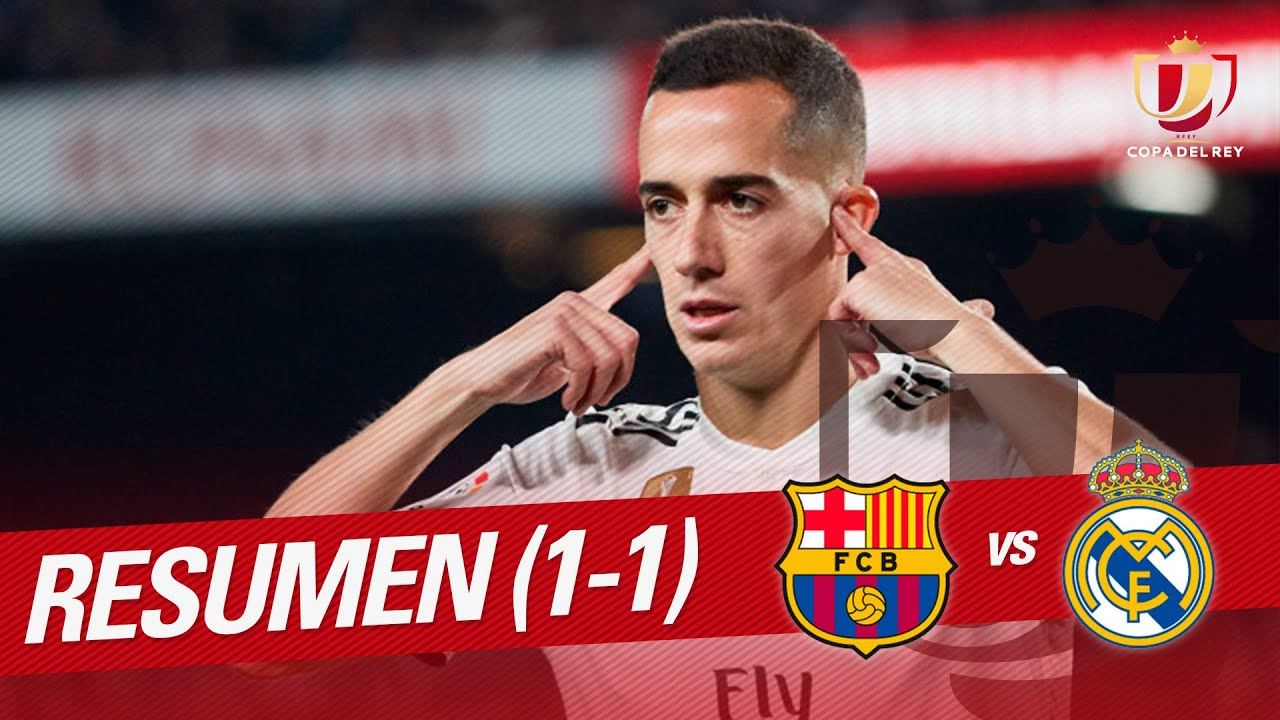 Resumen de FC Barcelona vs Real Madrid (1-1)