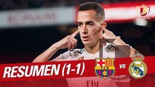 Resumen De Fc Barcelona Vs Real Madrid (1 1)