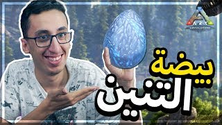 أرك سيرفايفل | 8# | أعياااااد وسرقة بيضة التنين وترويضات!!! | ARK S03