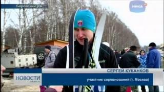 Снежная межура в Калужской области