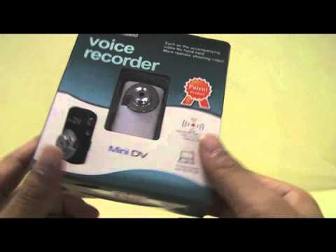 1.3MP CMOS Mini DV Video Camera (TF Slot) - DealExtreme