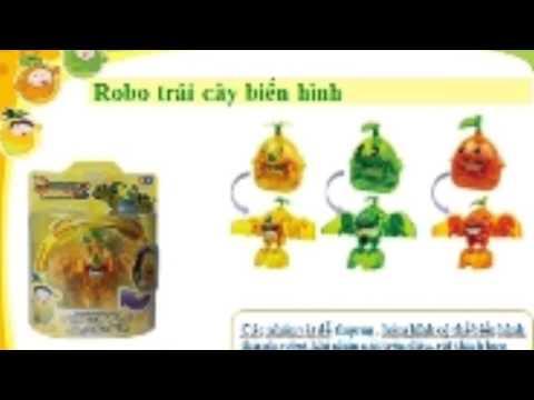 Đồ chơi robo trái cây biến hình