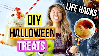DIY Halloween Party Treats + Life Hacks