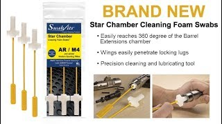 STAR CHAMBER CLEANING FOAM SWAB BY SWAB-ITS - AR-15/M4 - Review