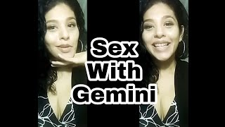 Cancer and Gemini in bed woman man