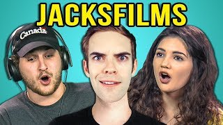 connectYoutube - COLLEGE KIDS REACT TO JACKSFILMS