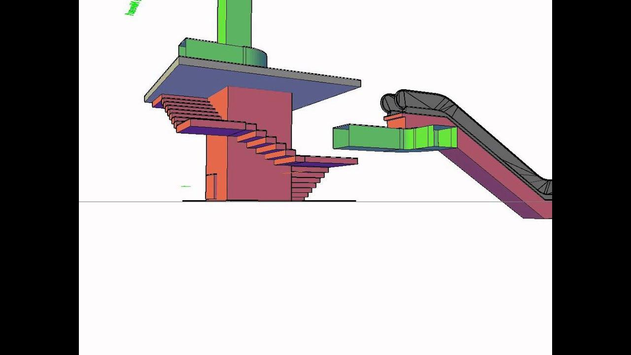 Casser Un Escalier Beton escalier a demolir - youtube