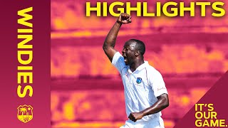 Windies vs India | 1st Test Day 1 2019 | Bitesize Highlights