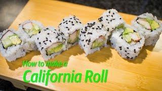 كيفية جعل لفة كاليفورنيا