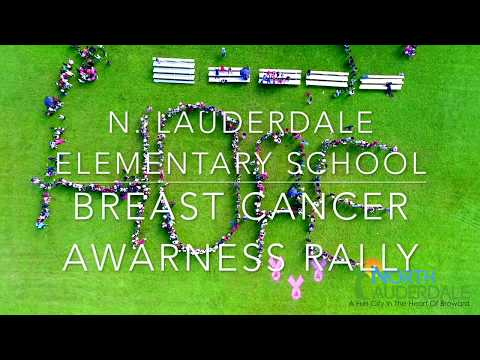 HOPE - North Lauderdale Elementary School Breast Cancer Awareness Rally
