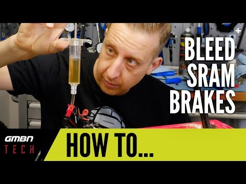 How To Bleed New Sram MTB Brakes | Bleeding Edge Technology