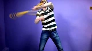 "Nunchaku freestyle Jayson fr13- видеоуроки ""молотилка"""