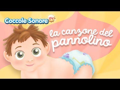 La Canzone del Pannolino - Italian Songs for children by Coccole Sonore