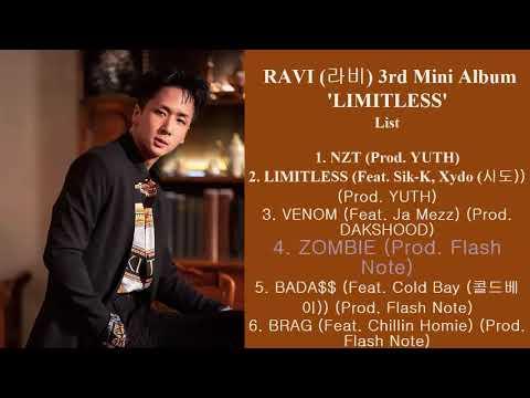 RAVI (라비) 3rd Mini Album 'LIMITLESS'