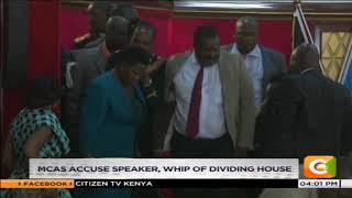 Kisumu MCAs plot to impeach Majority leader