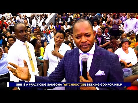 A WITCH DOCTOR RUNS TO PASTOR ALPH LUKAU FOR HELP - Accurate Prophecy