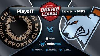 [PT-BR] Chaos Esports Club vs  Virtus.pro - DreamLeague 11 - Dota 2 Major
