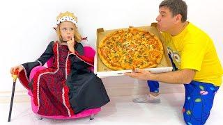 Nastya biến thành một công chúa xấu