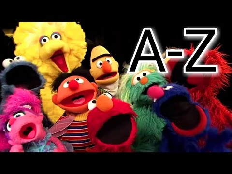Sesame Street Letter Of The Day A-Z