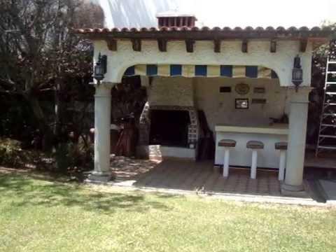Residencia 998 m2 en sumiya jiutepec morelos youtube for Asadores de piedra para jardin