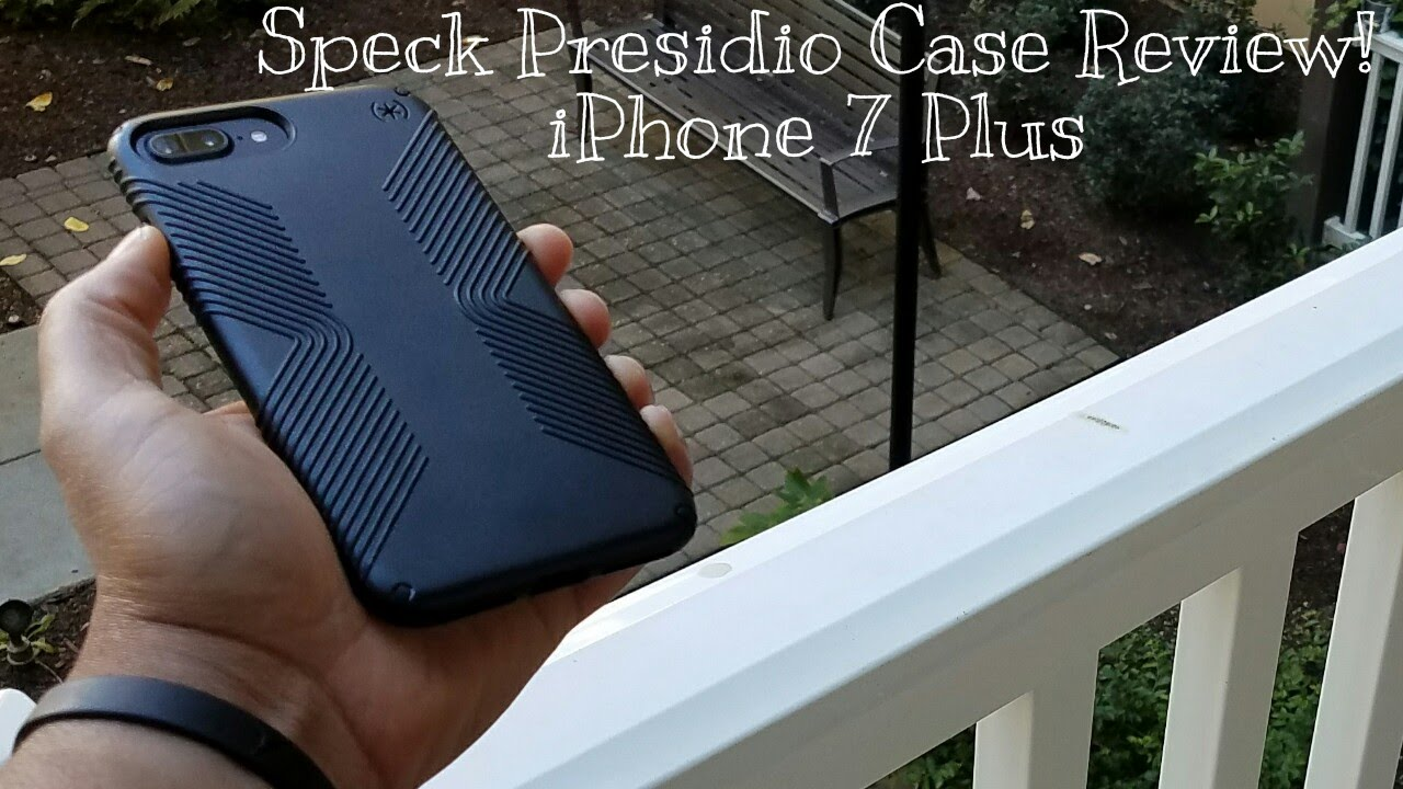 get cheap 9c3a4 dc7bf iPhone 7 Plus Speck Presidio Grip Case Review!