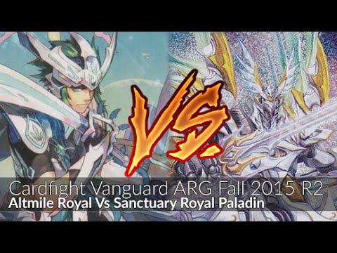 Altmile Vs Sanctuary Guard - Cardfight Vanguard ARG Fall 2015 Indiana R2