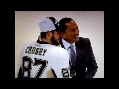2016 Pittsburgh Penguins Stanley Cup Final Sidney Crosby Interview + Conn Smythe Trophy (6-12-16)