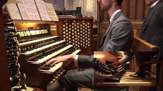 December 25, 2017: (HD) Organ Recital at Washington National Cathedral