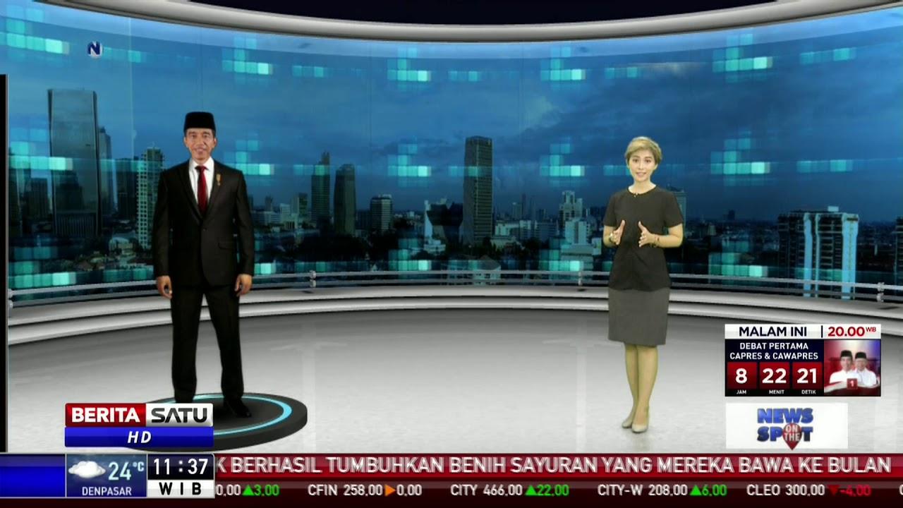 Profil Capres-Cawapres Pemilu 2019 Jokowi-Ma'ruf
