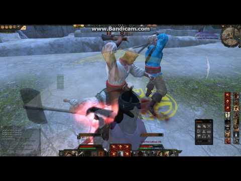 Age of Conan gameplay – barbarian