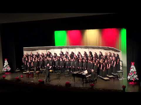 Mary Persons High School Mixed Chorus, 12 9 19 Grant Us Peace