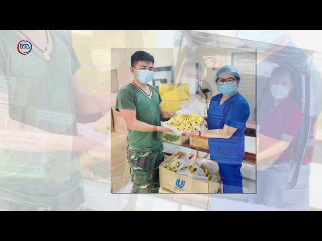 Công ty Union Trading tặng Vòng tay Việt 17 tấn chuối Nam Mỹ tiếp sức tuyến đầu chống dịch tại TPHCM