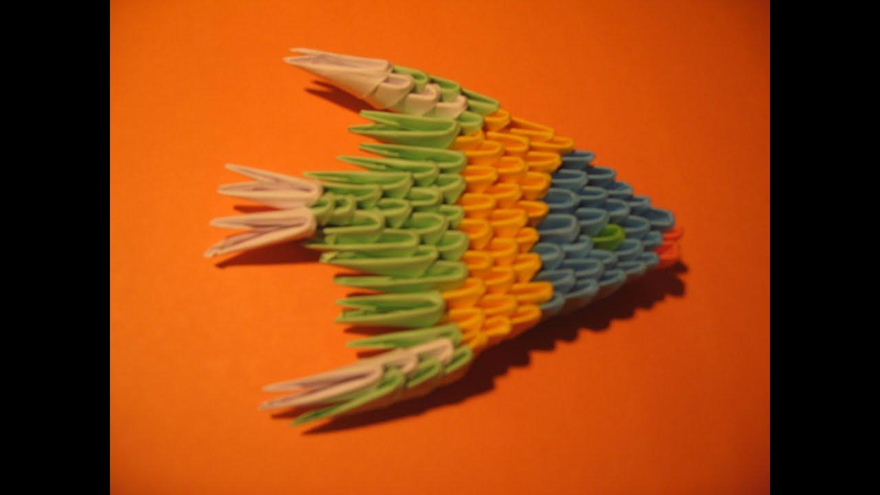 Модульное оригами. Оригами рыбка. Modular Origami:Fish ... - photo#38