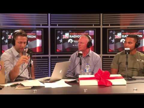 Duncan Newman AM 760 KFMB WFFS Radiothon 2016