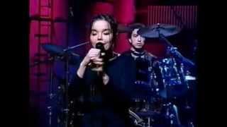 Björk - Human Behaviour (Original studio version on live video)