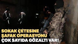 Adana da Sokak Çetesine Şafak Operasyonu 11 Gözaltı