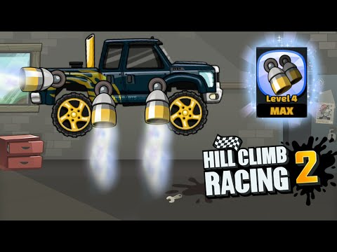 Hill Climb Racing 2 - New Moon Thrusters Tuning Parts