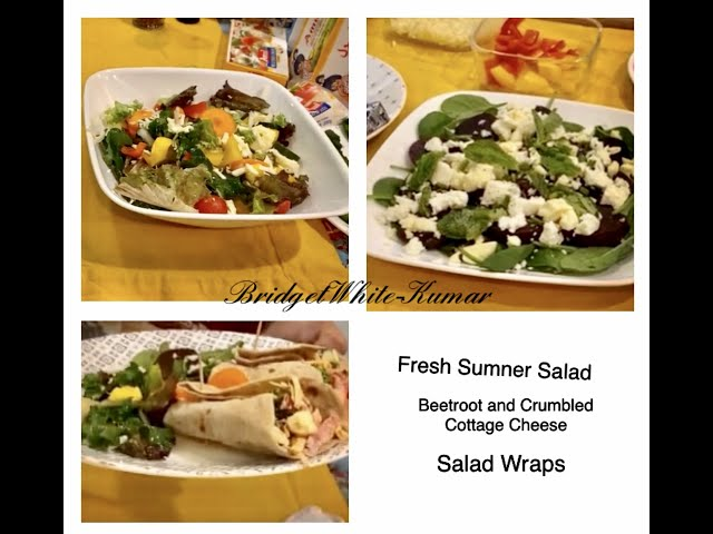 SALADS AND WRAPS - COOKING WITHOUT FIRE - LIVE ON AMUL FACEBOOK PAGE