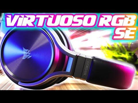Corsair Virtuoso RGB SE Wireless Gaming Headset Review