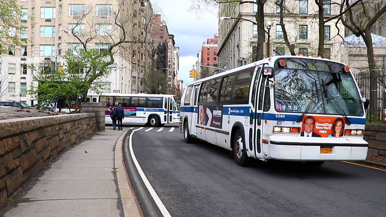 Mta New York City Bus 1997 1999 Nova Bus Rts 06s 5240 9478 On