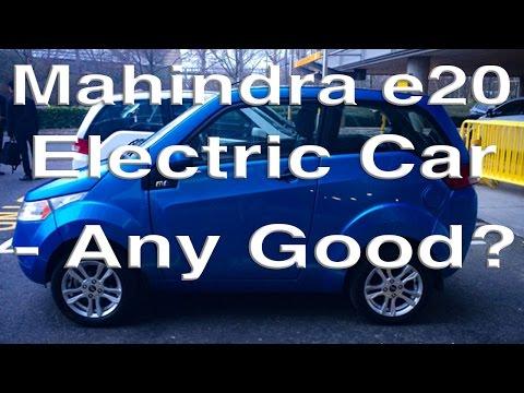 Mahindra e20 Electric Car - Any Good?