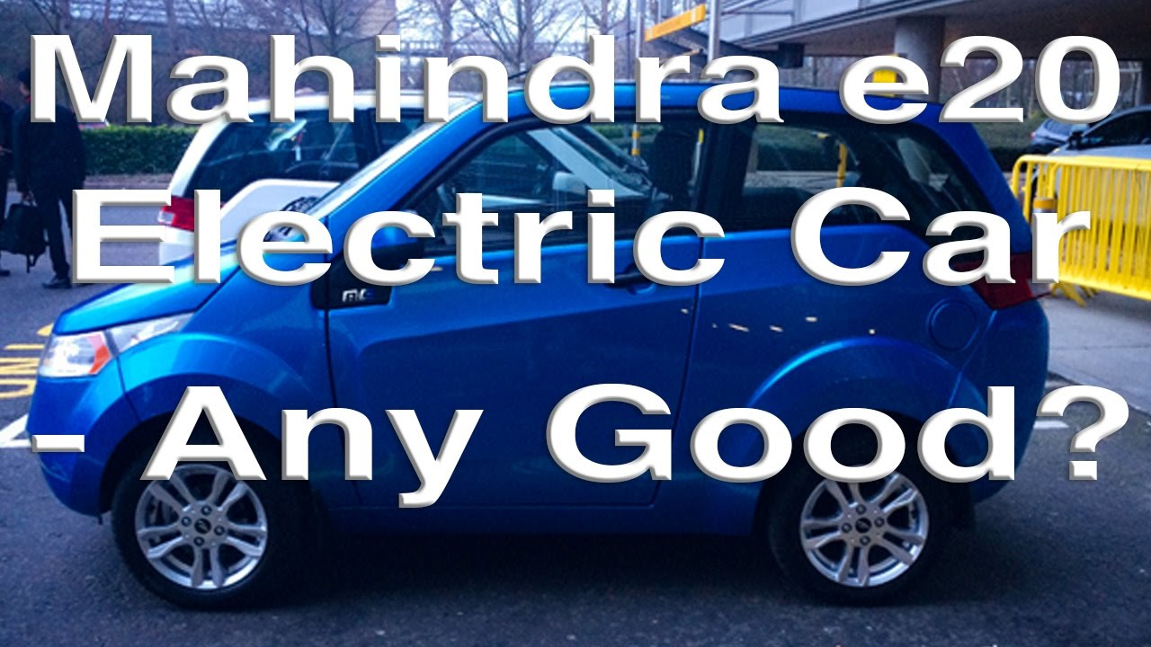 Mahindra Electric Car Any Good Youtube