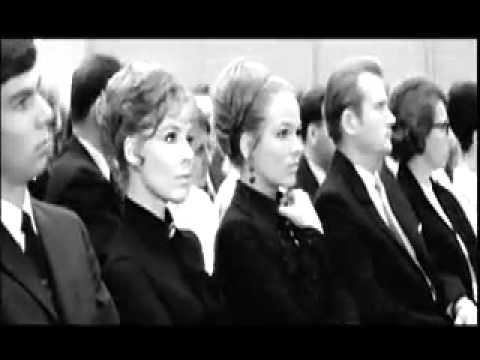 Etta Cameron sings for East Germans