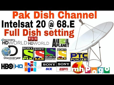 C band Intelsat 20 68.5E Full Setting And Power VU Channel free Discovery/Sony