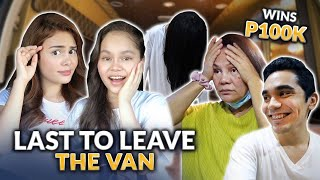 LAST TO LEAVE THE VAN WINS 100K! | IVANA ALAWI