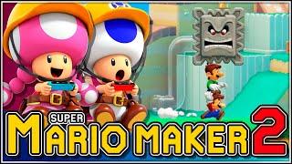 Ese pequeño vacío!!! | Super Mario Maker 2