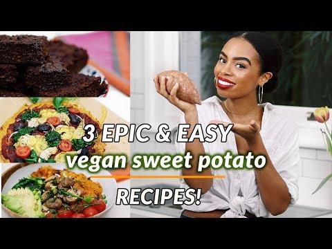 3-epic-easy-vegan-recipes- -sweet-potato-pizza-chocolate-brownies