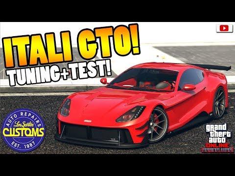 😍🛠Teuerster Sportwagen ITALI GTO Tuning+Test!😍🛠[GTA 5 Online Arena War Update DLC] thumbnail