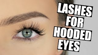 Best Lashes for Hooded Eyes STEPHANIE LANGE